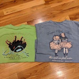 BUNDLE of 2 Kappa Alpha Theta tshirts